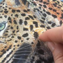 Handsown detail