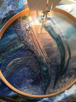 Blue Whale stitching