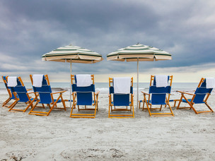 Beach Chairs at the End of the Day