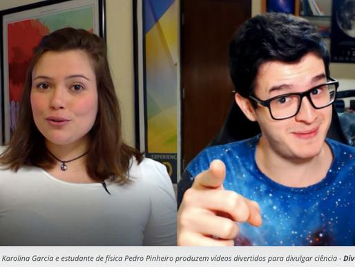 Youtubers e a ciência de forma divertida