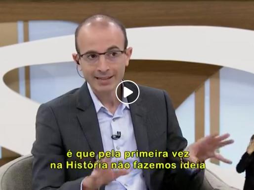 'Não fazemos ideia de que habilidades as pessoas precisarão', diz Yuval Harari
