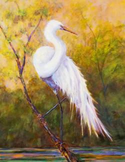 Egret - Sold