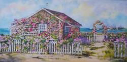 Nantucket Rose Covered Cottage