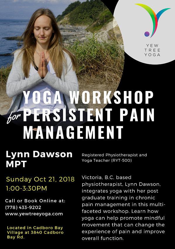 Yoga Workshop For Management of Persiste