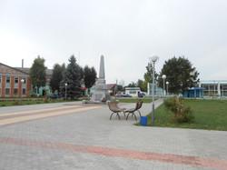 Обновлённая центральная площадь