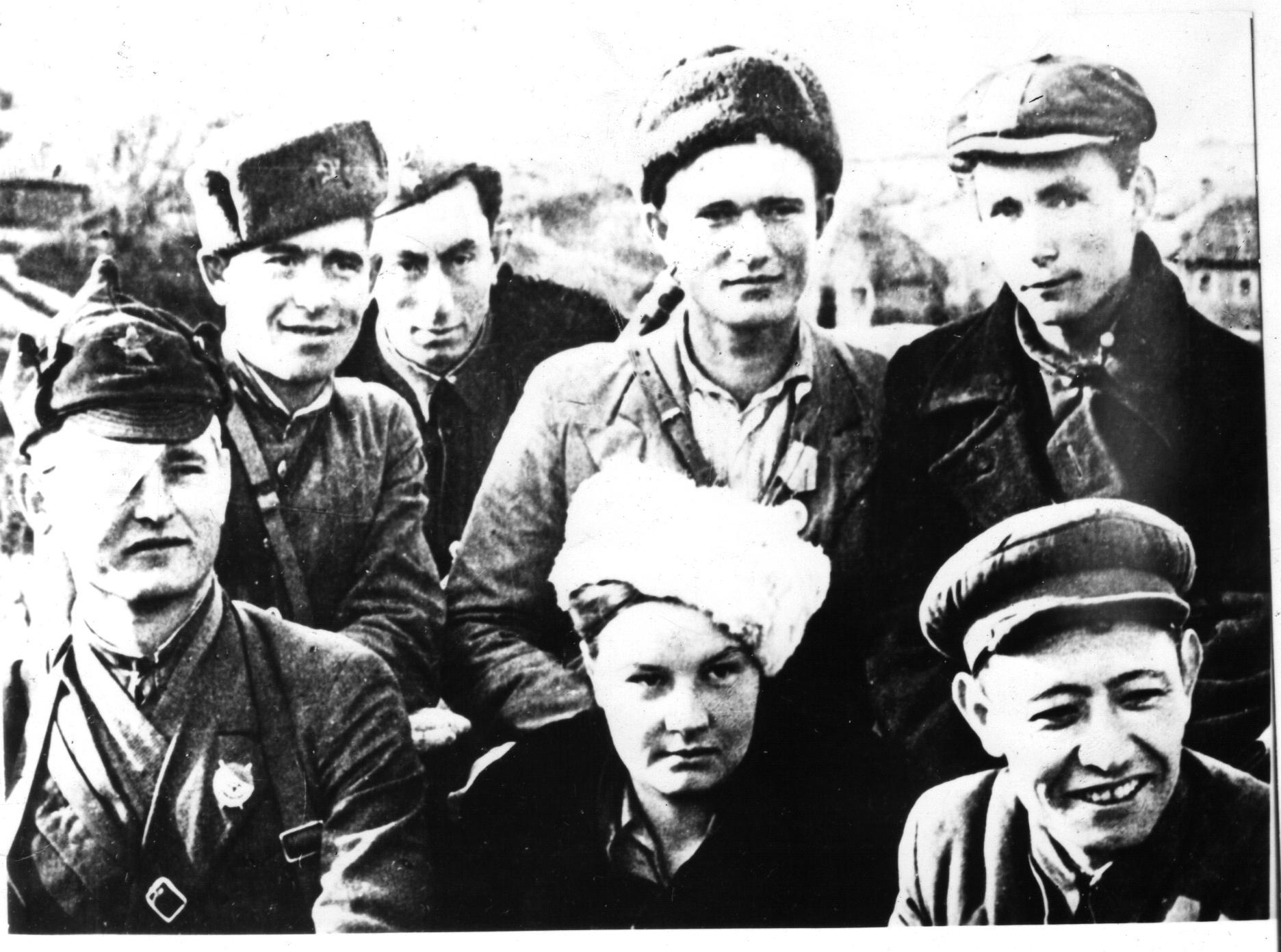 Комсомольский актив 3-го батальона