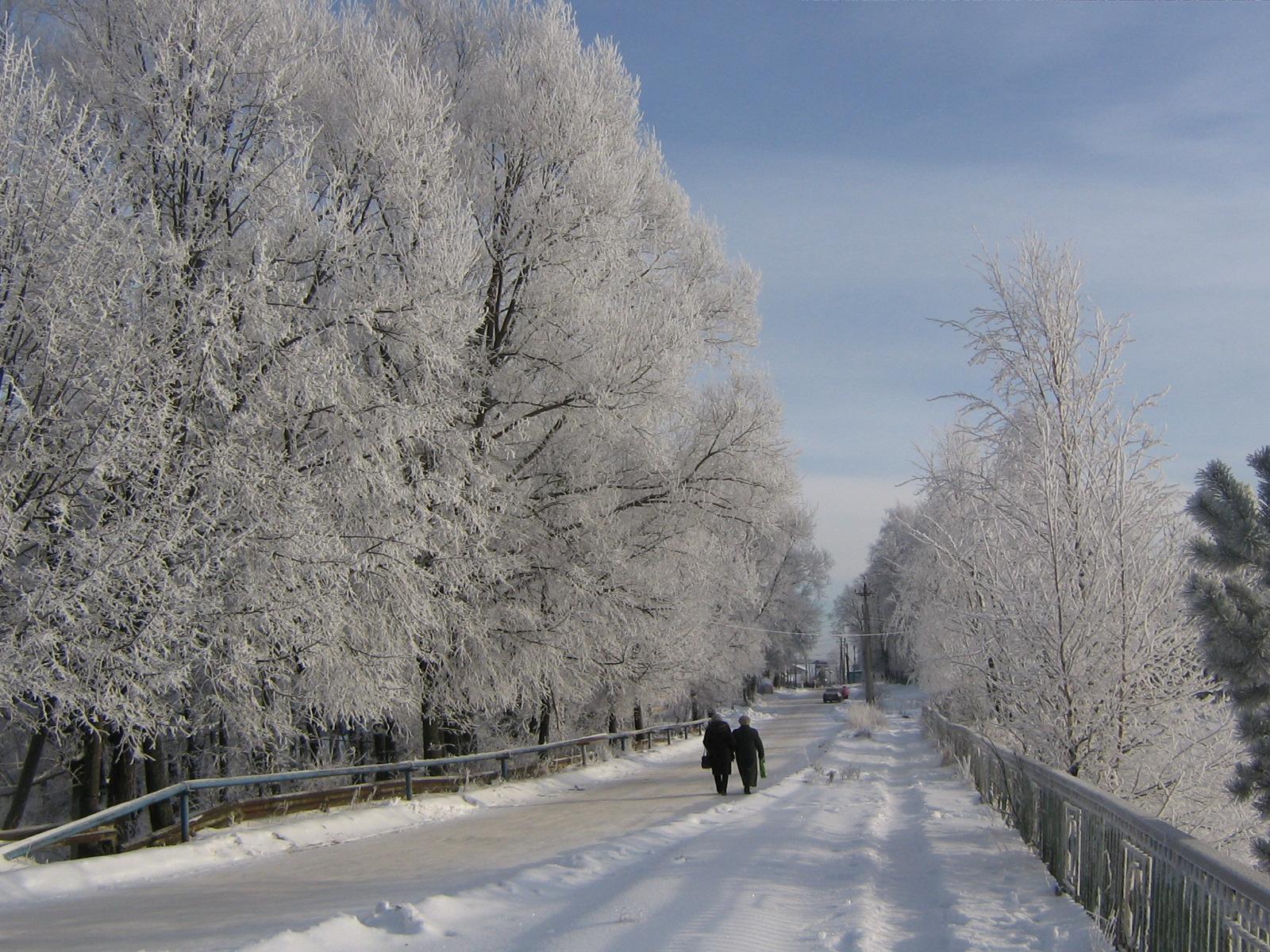Клетня. Зимний пейзаж