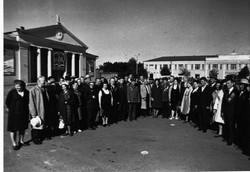 Встреча партизан в Рословле