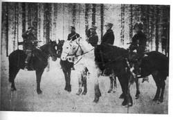 Группа разведчиков 5-й бригады