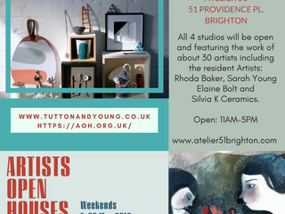 Artists Open Houses Festival at Atelier 51, Brighton