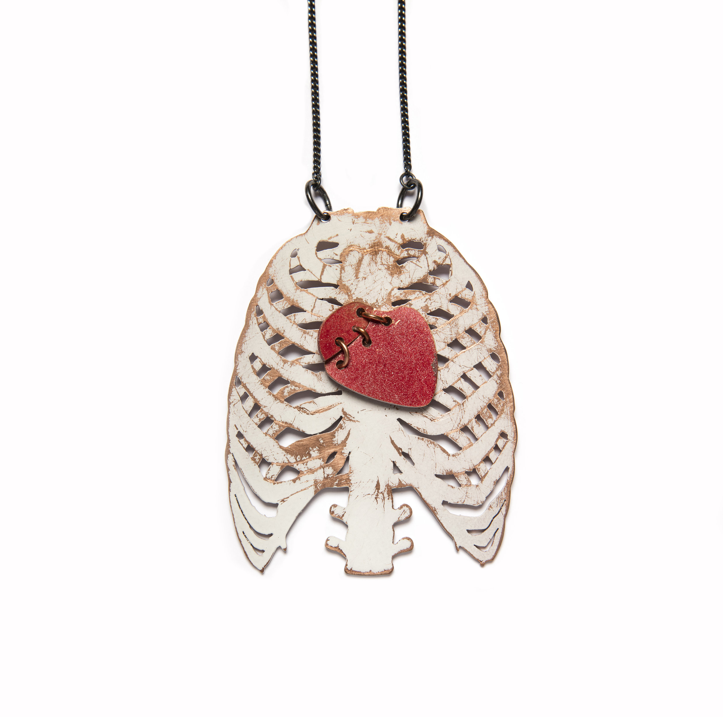 Ribcage Necklace by Anna Watson