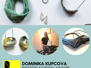 Dominika Kupcova Jewellery Wins Design-Nation Award!