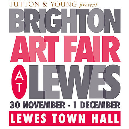 brighton art fair logo Square at lewes s