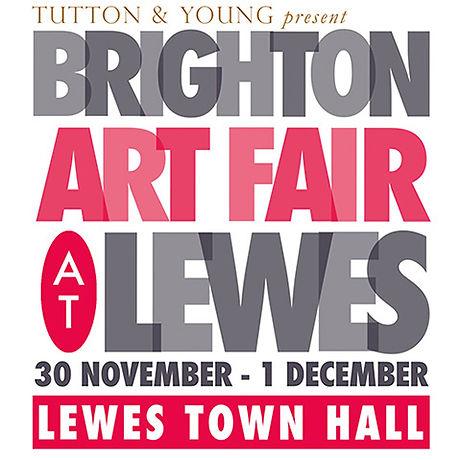 brighton art fair logo Square at lewes s