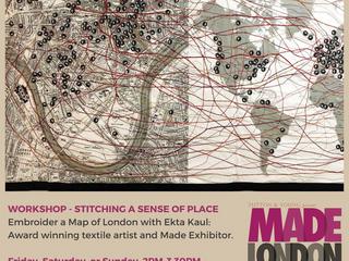 Ekta Kaul Workshops at Made London Marylebone