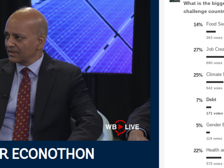 First ever Econothon (24hr)_Worldbank Group