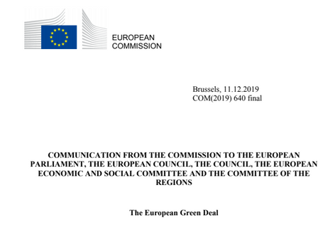 """Think tank meeting """"Blockchains for the European Green Deal and SDGs"""" in Brussels, 14 January2019"""