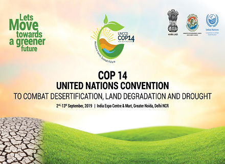COP14 (UNCCD), CRIC 18, CST 14 - New Delhi, 2-13 September