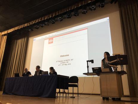 ISO TC 307 III plenary - London