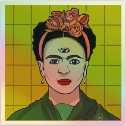 """Stay Woke"" Frida Sticker"