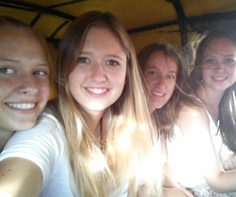 Katrin, Laura, Kathi und Katharina 2016