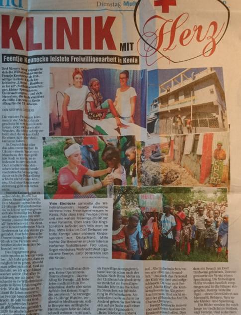 Mai 2018 Wilhelmshavner Zeitung