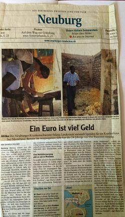 Mai 2012 Neuburger Zeitung