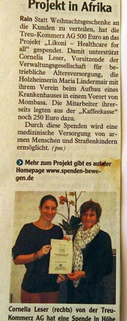 Februar 2013 Donauwörther Zeitung