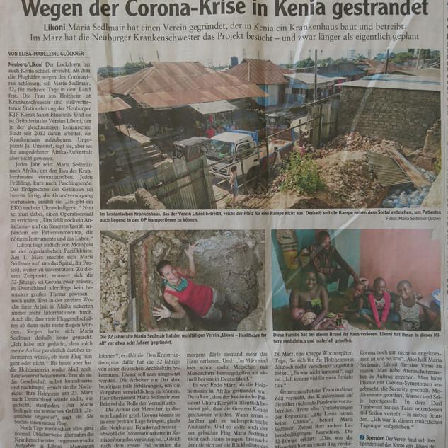 April 2020 Neuburger Zeitung