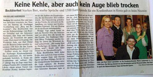 März 2015 Neuburger Zeitung