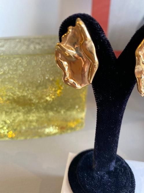 Deborah Blyth Wave Abstract Earrings