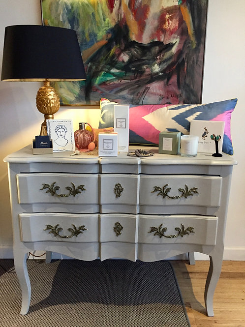 Painted French Chest of Drawers