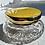 Thumbnail: Art Deco Guilloche Enamel Crystal Trinket Bowl