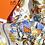 Thumbnail: Vintage Hermes Silk Scarf 90x90cm