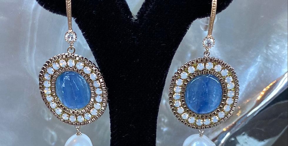 Handmade Natural  PearlDrop Earrings