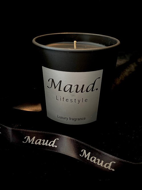 30cl,46hr Luxury Charcoal Rose Candle
