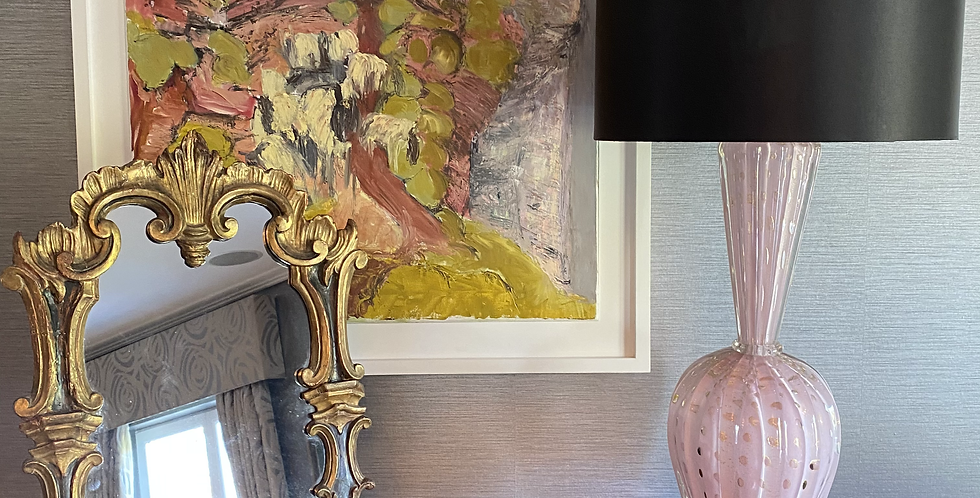 Vintage Murano Barovier Lamp Base