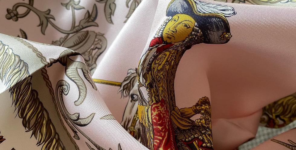 Vintage Hermes Silk Scarf