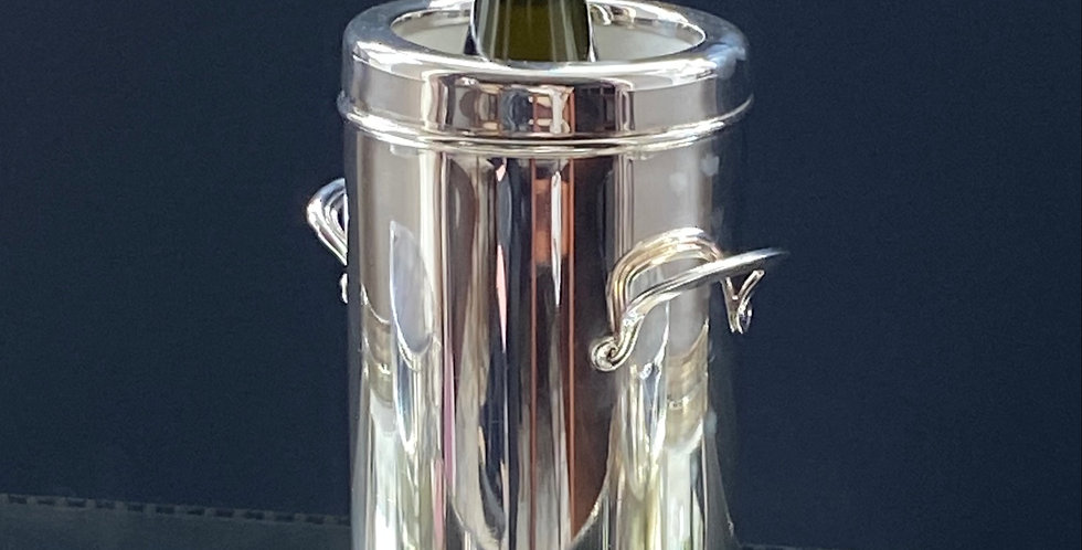 Vintage Silver-plated Wine Cooler
