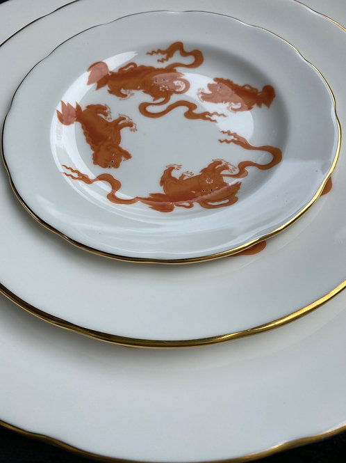 35 Piece Wedgewood Chinese Tiger Dinner Service