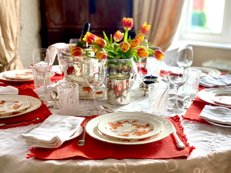 Tablescaping with Maud & Vintage Wedgwood