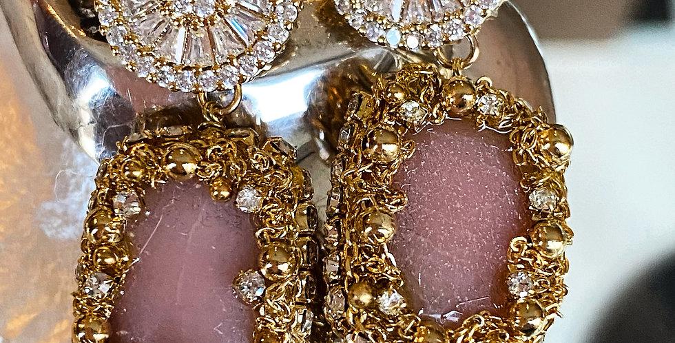 Handmade Crystal and Gemstone Earrings