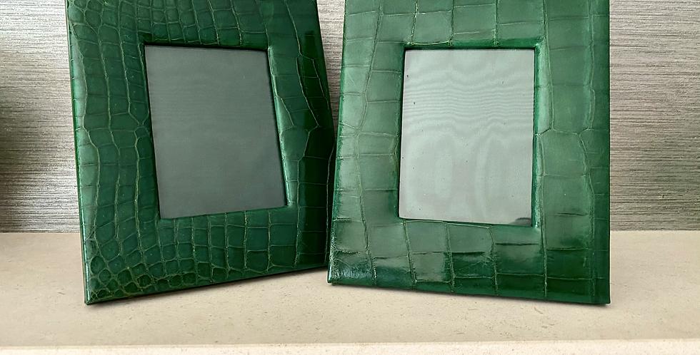Bespoke Leather Photograph Frame