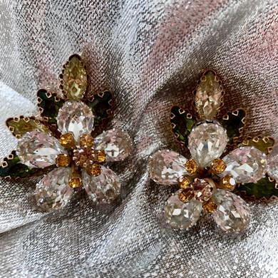 Statement Vintage Earrings by Schoffel