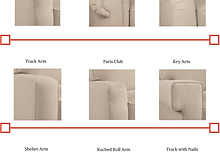 Types Of Arms For Upholstered Furniture