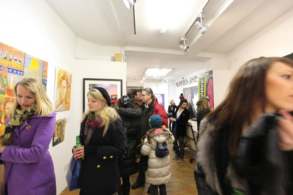 'Art in mind' Brick Lane Gallery