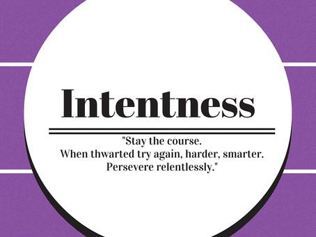 Persevere relentlessly