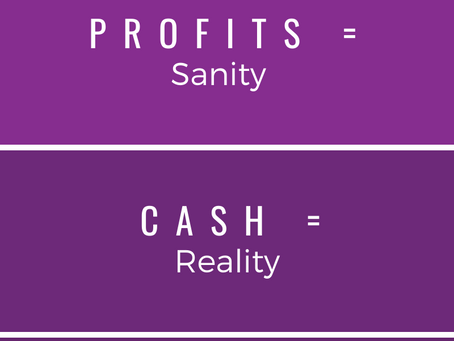 Cash equals reality