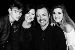 Aidan, Tara, Hal and Halle