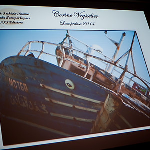 Archivio Disarmo Premio Colombe d'Oro per la Pace 2014 - Pescatori di Lampedusa